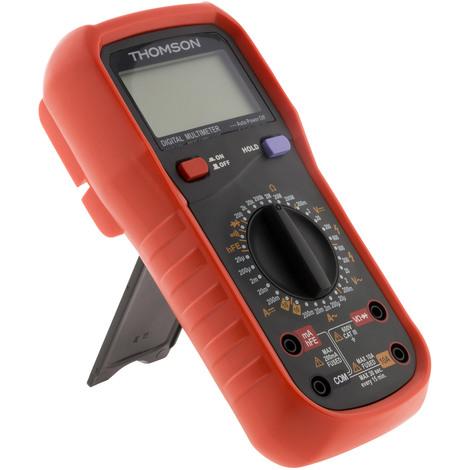 Multimètre digital antichoc CAT III 600V