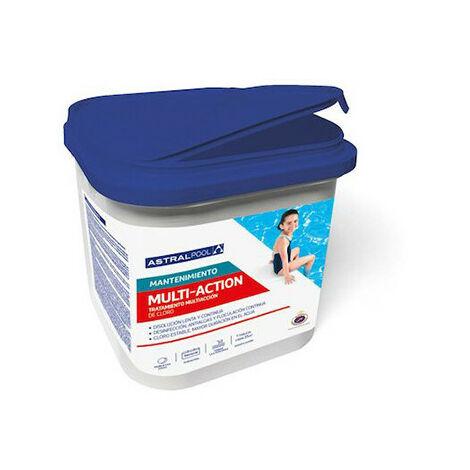 Chlore multifonctions galet de 250gr par 5 kg - 739305 - Aqua Soleil - -