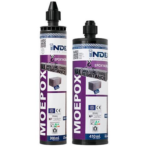 Cartouche de scellement chimique 300 ml charges lourdes Epoxy-acrylate ATE Option 7 - MOEPOX300 - Index - Autre -
