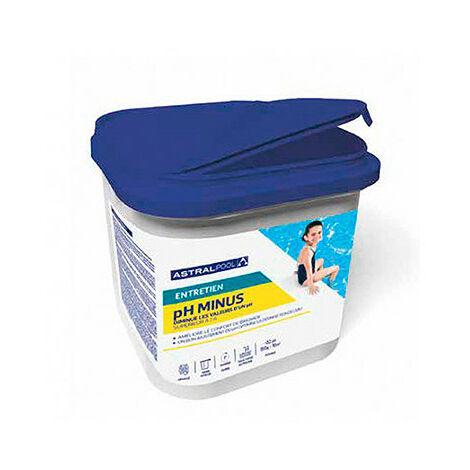 Régulation PH moins poudre 5 kg - 701005 - Aqua Soleil - -