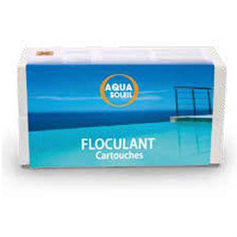 Floculant piscine 8 cartouches de 125 gr - 704301 - Aqua Soleil - -