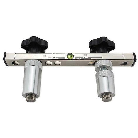 Montageanschlusslehre MAL aus Aluminium / Stahl