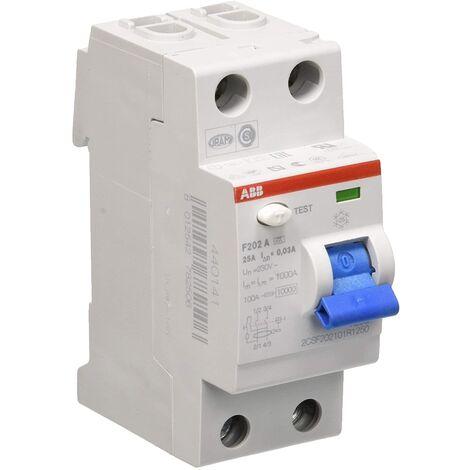 ABB Differenziale puro RCCB 25A F202A-25 / 0,03 AP-R