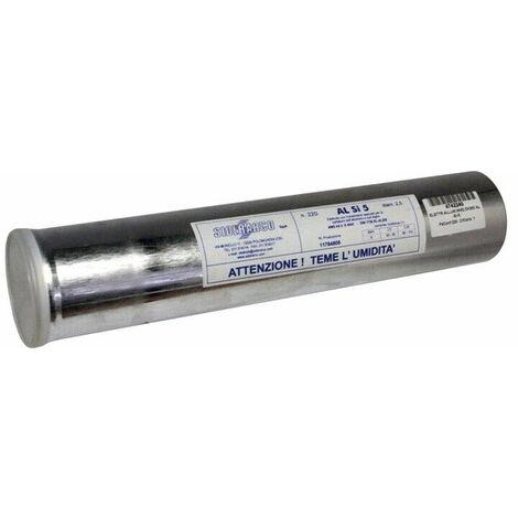 ELETTRODO PER ALLUMINIO AL-Si-5 RIPARAZIONI saldare alluminio puro leghe 2,5x350
