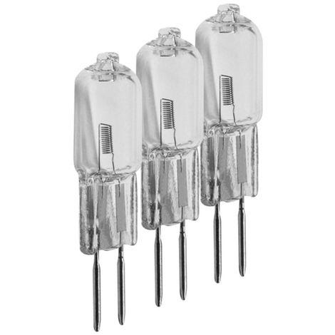 3er Set Müller Licht 300038 Halogen Stiftsockel Leuchtmittel G4 Lampe 20W 12V