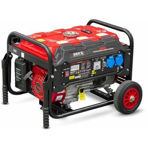 Groupe électrogène 3000W avec roues - Essence -