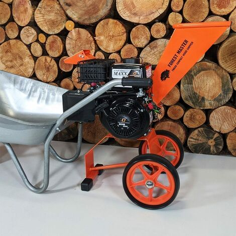 Forest Master FM6DD Compact 6HP Petrol Wood Chipper Garden Shredder