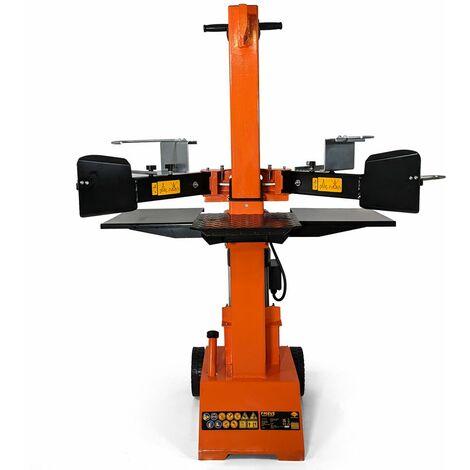 Forest Master FM8VE Vertical Heavy Duty Hydraulic 8 Ton Electric Log Splitter