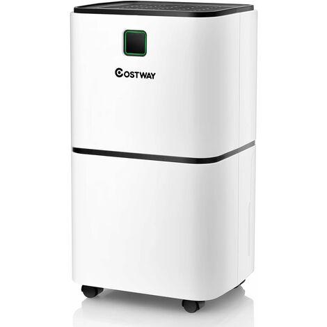 Portable Room Dehumidifier Ultra-quiet Electric Dehumidifier 12L/D W/ 3 Modes