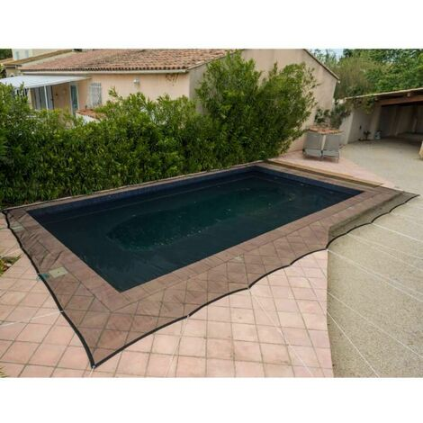 Filet de protection piscine 100g/m2 Werkapro 6 x 10 m