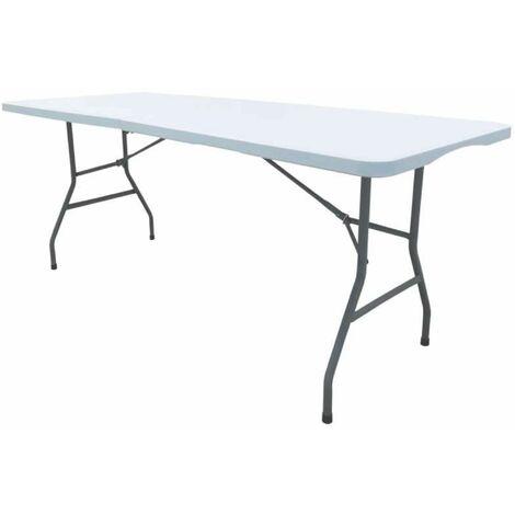 Table pliante rectangulaire 180x74x74cm Werkapro