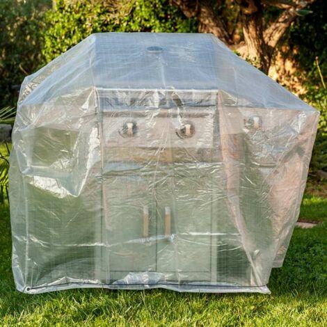 Housse pour barbecue et plancha 90x70x70cm Werkapro