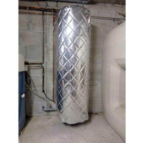 Isolant ballon d'eau chaude matelassé 4 couches