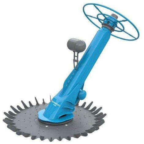 Robot balai piscine hydraulique NOVARDEN NSB50 - Bleu