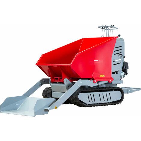 Brouette motorisée à chenilles, avec pelle 500 kg MW-Tools HRD500HS