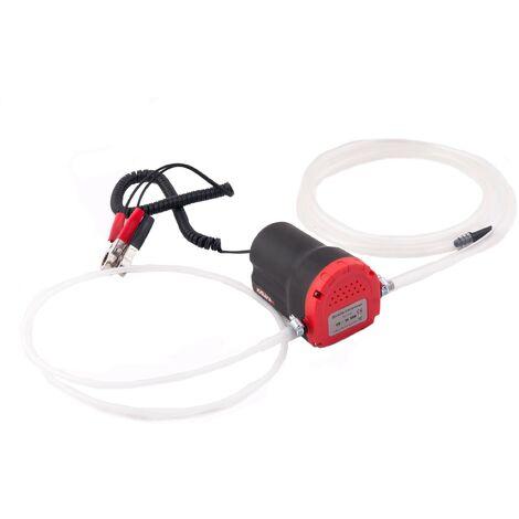 Bomba Extractora 12 V. / 60 W Cambio De Aceite Combustible Aspiracion Diesel