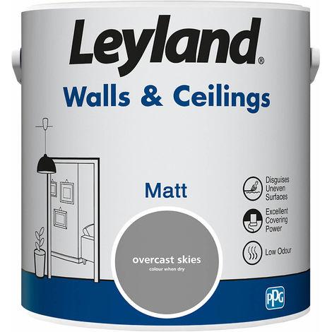 Leyland Walls & Ceilings Matt Overcast Skies 2.5L