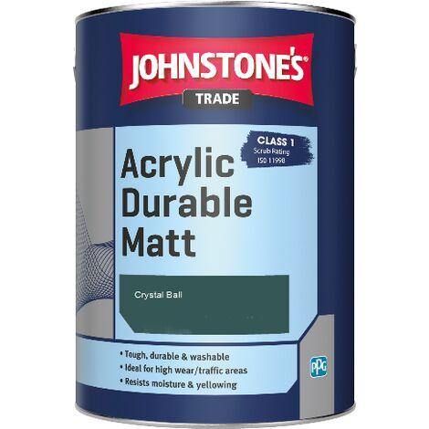 Johnstone's Trade Acrylic Durable Matt - Crystal Ball - 5ltr