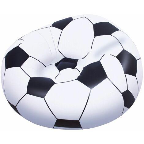 Bestway Up In und Over Luftsessel für Kinder Fußball 114 x 112 x 66 cm