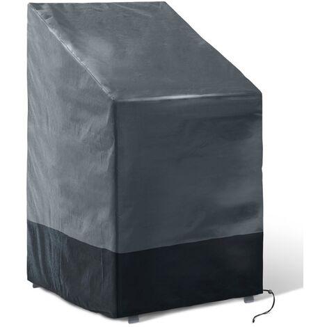 Housse de protection pour 4 à 6 chaises empilables 70 x 70 x 120 CM