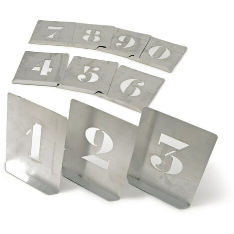 Numbers Stencil Sets