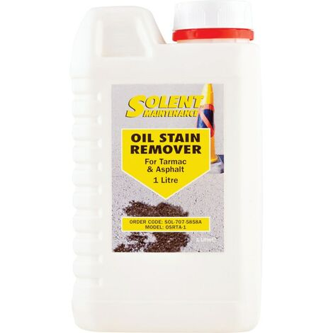 Oil Stain Removers for Tarmac & Asphalts