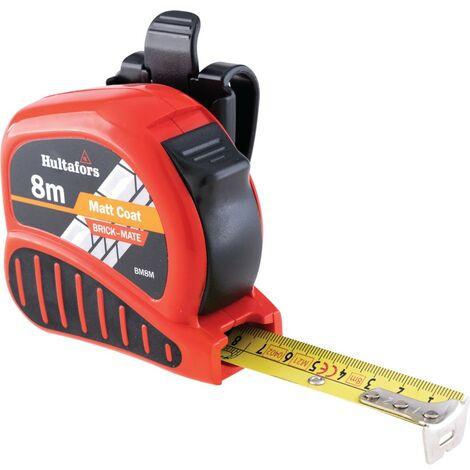 Fisco BM8 8M Brick-mate Tape/brick Course Measure