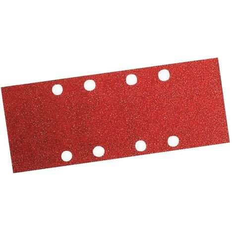 Bosch 1/3 Sanding Sheets Punched 93 X 186MM Assorted Grit - 10 Pack - 2 608 605