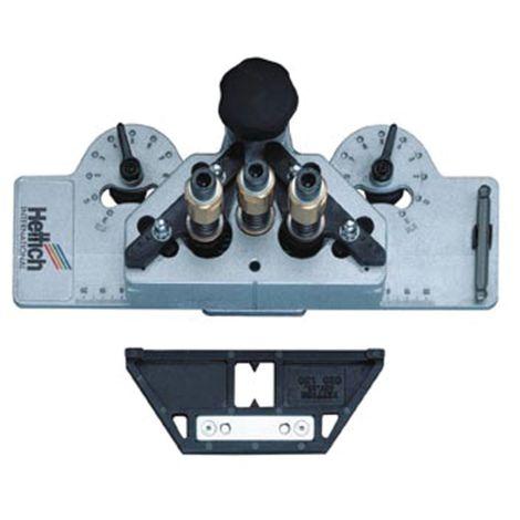 Gabarit de perçage HETTICH pour charniere DrillJig - Foret Ø35 mm / 2 x Ø 10 mm - 20165