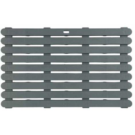 Bath mat Duckboard Indoor & Outdoor Grey WENKO