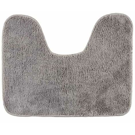 Toilet mat with cut-out Grey WENKO