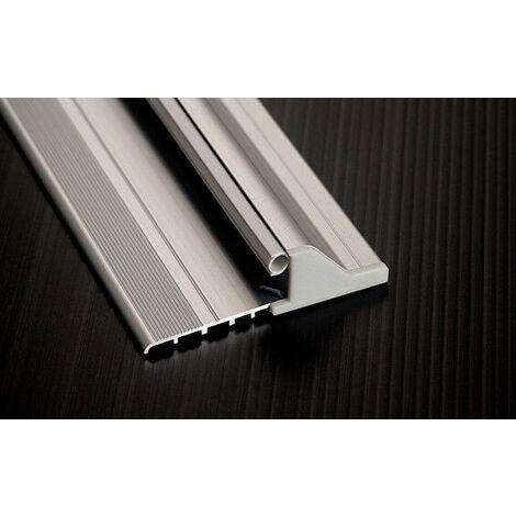 Soglia in Alluminio Antipioggia Domatic D-Rain Per Porte e Infissi Vari Colori