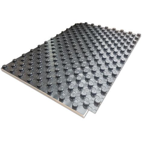 Pannello bugnato in polistirene espanso sinterizzato per impianti di riscaldamento a pavimento - prezzo al metro