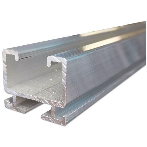 Profilo di montaggio rapido in lega di alluminio per impianti fotovoltaici