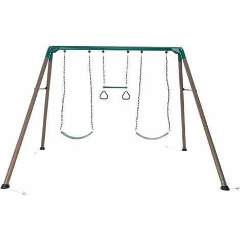 Lifetime 7-Foot Swing Set - Brown