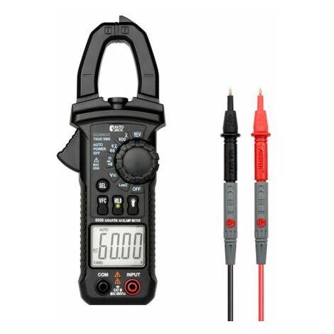 Autojack Digital Clamp Meter AC/DC Current Voltage Multimeter Temp Tester Flashlight