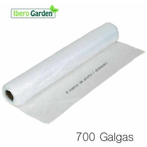 PLÁSTICO NATURAL 700 GALGAS- 6 METROS ANCHO (PRECIO X metro lineal)