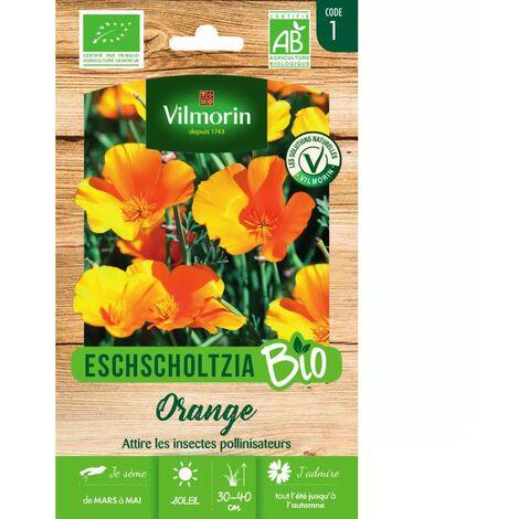 Vilmorin - Eschscholtzia Orange Bio