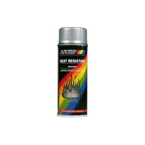 Aérosol de peinture Haute Température 800°C MOTIP - plusieurs modèles disponibles