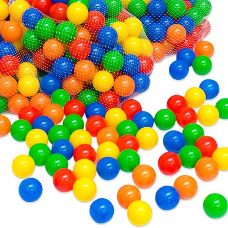 Balles colorées de piscine 1000 Pièces