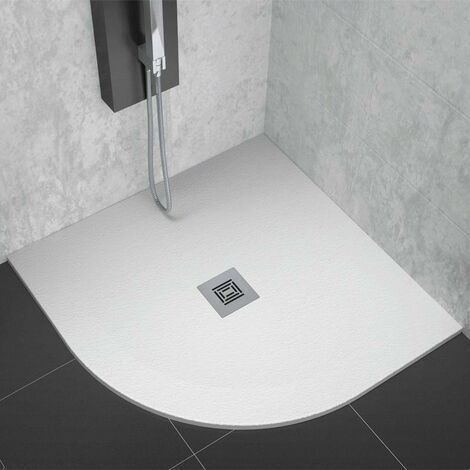 Plato de ducha de esquina Logic