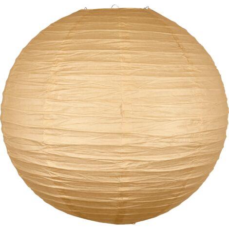 Boule Papier 50cm Sable - Sable