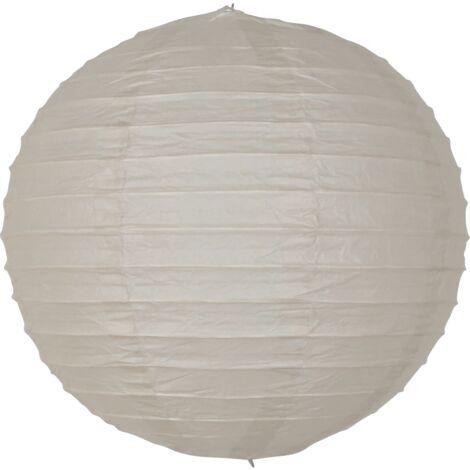 Boule papier 20 cm Warm Grey