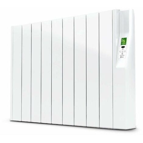 Radiador electrico Rointe serie SYGMA blanco 9 modulos 990W