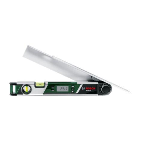 Mesureur d'angle Bosch - PAM 220 (Rallonge de bras, longueur 40cm, niveau à bulle)