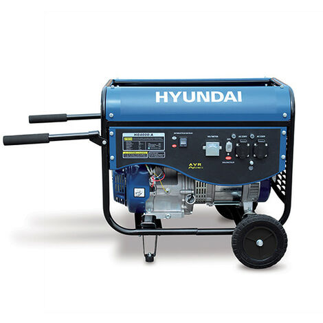 HYUNDAI Groupe Electrogène de Chantier 4300W HG4000-A