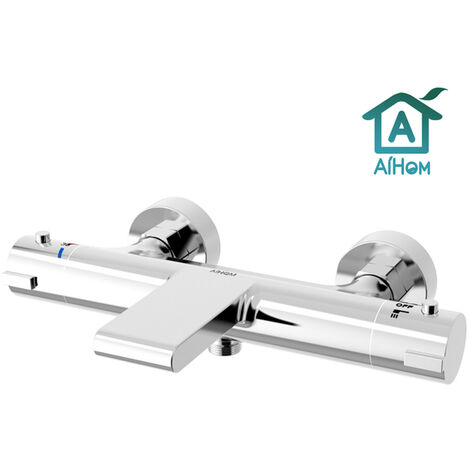 Thermostatic Bath Shower Mixer Taps bar shower valve Modern Bathroom Waterfall design Wall Mounted Chrome Plated Brass Body