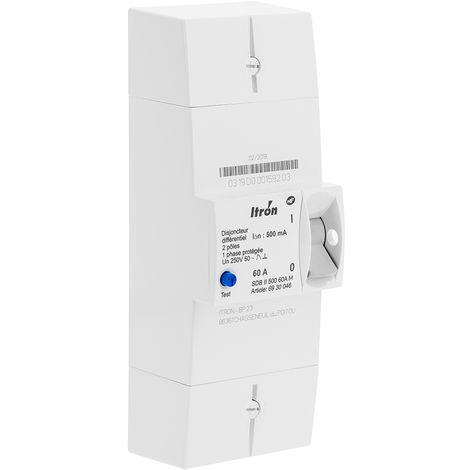 Disjoncteur EDF 60A 230V Instantané - ITRON