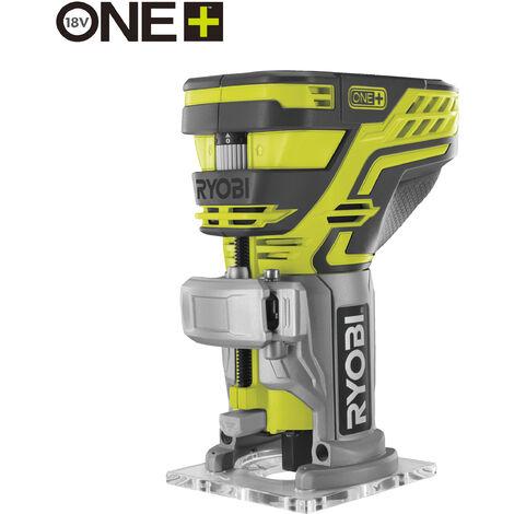 RYOBI - 5133002917 - R18TR-0 - Fresadora de 18V, sin batería