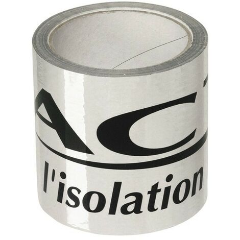 Adhésif ISODHESIF 25 m x 100 mm pour isolant mince Triso Super 12 Actis Actis